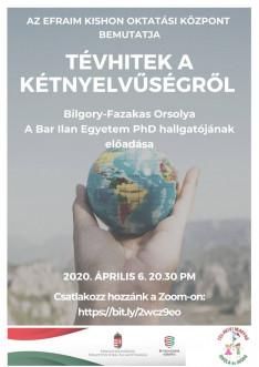Online előadás a kétnyelvűségről