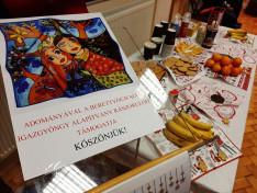Mikulás Ünnepség, az Igazgyöngy Alapítvány számára szóló adománygyűjtés felhívó plakátja