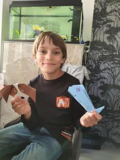 Origami meglepi a nagyoknak