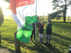 Zászlófelvonás