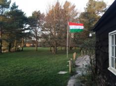 Lobog a magyar zászló