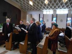 Az ökumenikus ima résztvevői