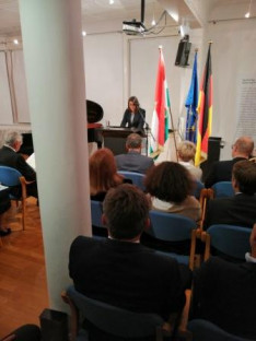 Novák Katalin államtitkár asszony elmondja ünnepi beszédét