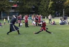 Baranta hagyományos harcművészeti bemutató