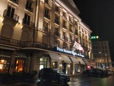 Az öt csillagos Le Four Seasons Hôtel des Bergues