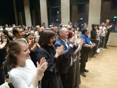 A Kaláka koncertközönsége állva tapsolt