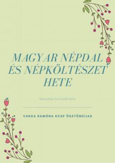 Magyar népdal és népköltészet hete