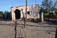 A ház elemeire bontásának kezdete
