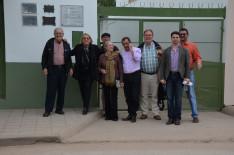 A Villa Angela-i Magyar Egyesület tagjai dr. Cseri Miklóssal és Zsonda Márkkal (jobb oldalon, elöl)