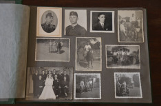 Régi fotók a legelső, Villa Angelán letelepülő magyarokról