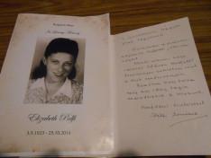 Erzsi néni is 92 éves koráig szolgálta a magyar közösséget