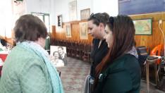 Az Argentínába érkező szülők fényképe