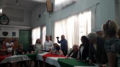 Szabó Éva, az AMISZ elnöke is jelen volt