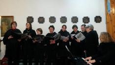 A kórus Kodály Magyar miséjét énekelte