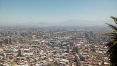 Santiagói városkép