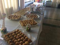 Terített asztal a Duna TE születésnapján