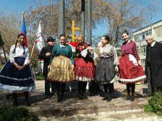 Duna TE tagjai a Szent István téren