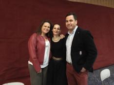 Contreras Darvas család és Németh Kati, KCSP mentor