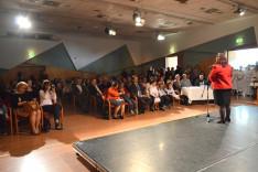Mentsik Szilvia, az AMAPED elnöke köszöntötte a vendégeket