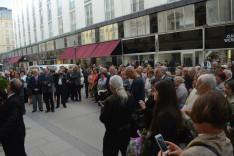Koszorúzás és ünnepi megemlékezés gróf Széchenyi István születésének 225. évfordulója alkalmábó