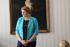 Csibi Krisztina a két programot mutatta be a közönségnek