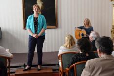 Csibi Krisztina visszatérő vendég a Pázmáneumban