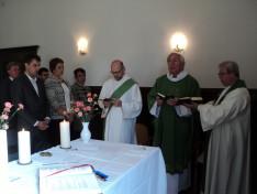 Október 9-én Innsbruckban az ünnepi szentmisét dr. Vencser László, dr. Nagy-György Attila és dr. Hirschberger Raimund diakónus mutatta be
