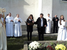 A gyimesbükki jubileumi ünnepségen Hock Judit, a Petőfi Sándor Program ösztöndíjasa emlékezetes ünnepi beszédet mondott