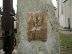 Dr. Jakab Antal püspök. Xantus Géza bronzkompozíciója