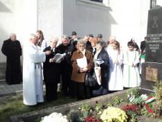 Dani Gergely szülőfaluja, Gelence küldöttsége versekkel és énekekkel is készült az alkalomra