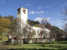 Villámcsapás miatt ez év szeptember 19-ére virradóra leégett az atyhai katolikus templom