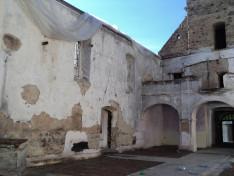 A leégett atyhai templom 2016. október 24-én