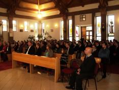 Emlékezők 2016. szeptember 29-én a gyulafehérvári Gróf Mailáth Gusztáv Károly Római Katolikus Teológiai Líceum kápolnájában