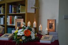 Az október 24-i gyulafehérvári könyvbemutató díszlete