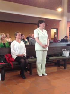 Varga Gabriella elköszönő KCSP-ösztöndíjas