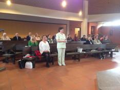 Linzben 2017. május 21-én a szentmise kezdetén