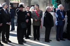 A megemlékezésen részt vevő magyar közösség