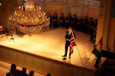 Gyurta Dániel olimpikon,a megemlékezés díszvendégének beszéde
