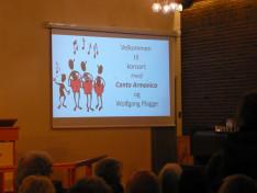 Harmadik állomás: liturgikus koncert Hohnefoss-ban.