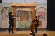 Gencyilmaz András (hegedű) és Miklós (cselló)