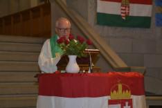 Vizauer Ferenc atya az ökumenikus istentiszteleten