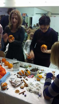 Illatos narancs adta meg a karácsony hangulatát
