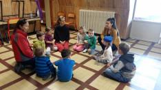 LAposa Julcsi meglátogatta gyerekfoglalkozásunkat