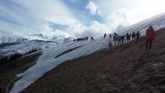 Hó és jég is volt még április végén ezen a tengerszint feletti magasságon