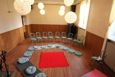 a foglalkozás helyszíne  stockholmi Magyar Ház