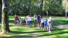 Játékos sorversenyeken vettünk részt.