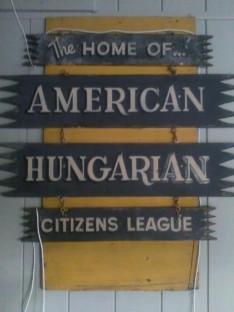 A Magyar Liga emléktáblája