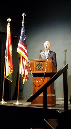 Széles Tamás Los Angeles-i főkonzul is beszélt az ünnepségen