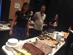 magyar süteményeket kóstolhattak a vendégek