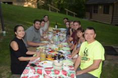 Ifjúsági közös vacsora